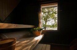 Finnish Lakeside sauna