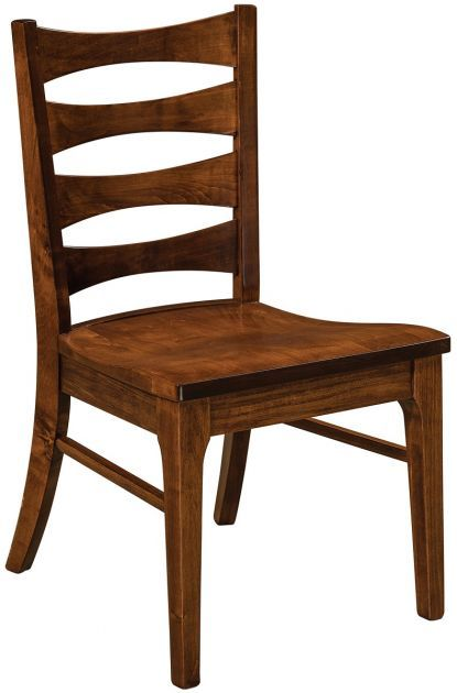 Awesome Featuring A Flared Ladder Back, Our Novara Dining Chairs Are Crafted Of Solid  Wood In