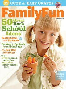 Free one-year subscription to Family Fun magazine (Facebook offer)!  Just like the page and enter your address!