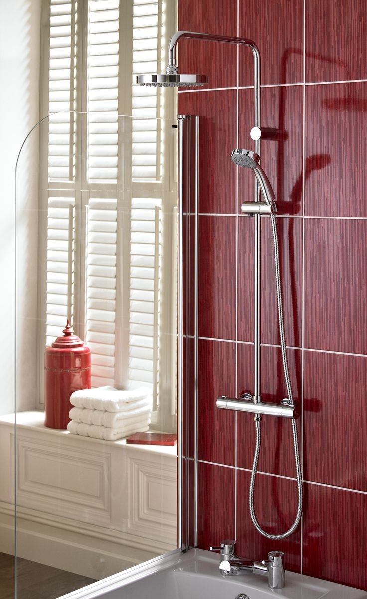 Bristan 'Carre' Thermostatic Shower
