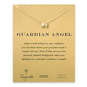 Dogeared Guardian Angel Necklace