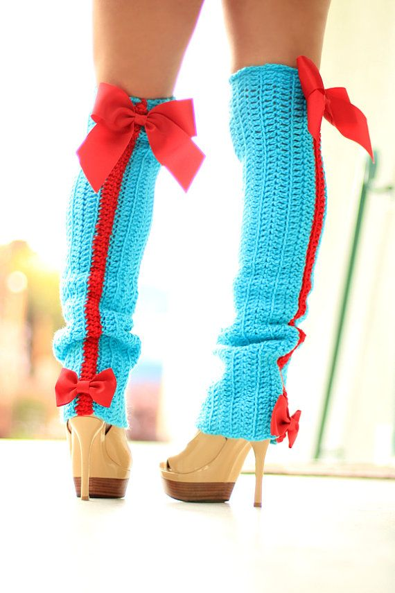 Free Crochet Pattern Thigh High Leg Warmers : 1000+ images about Crochet LegWarmers on Pinterest Free ...