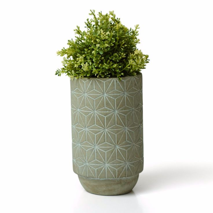 Concrete Vase - Star