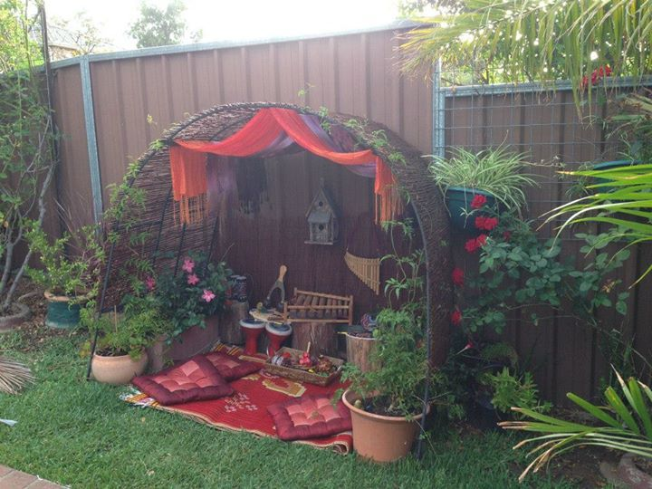 """Musical Cave outdoors from Puzzles Family Day Care ("""",)"""
