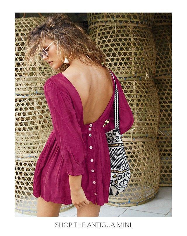 Shop the Antigua Mini Dress