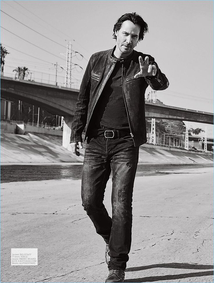 Keanu Reeves Covers Esquire UK & Men's Fitness