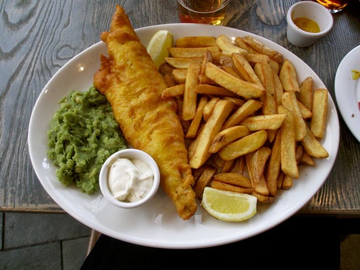 Fish n Chips from a London pub