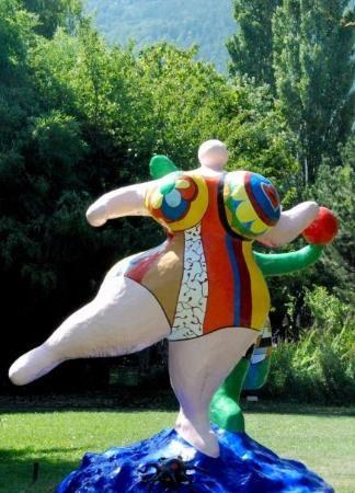 Niki de Saint Phalle at Martigny