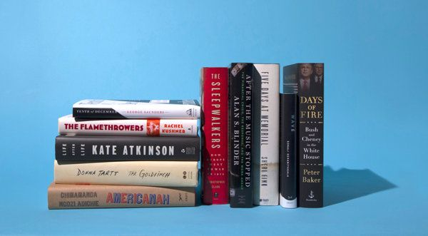 The 10 Best Books of 2013, selected by the editors of The New York Times Book Review.