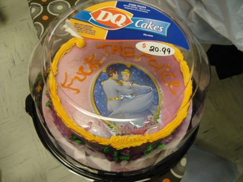 fuck the police ice cream cake dairy queen.....ohemgee this just made me laugh so hard
