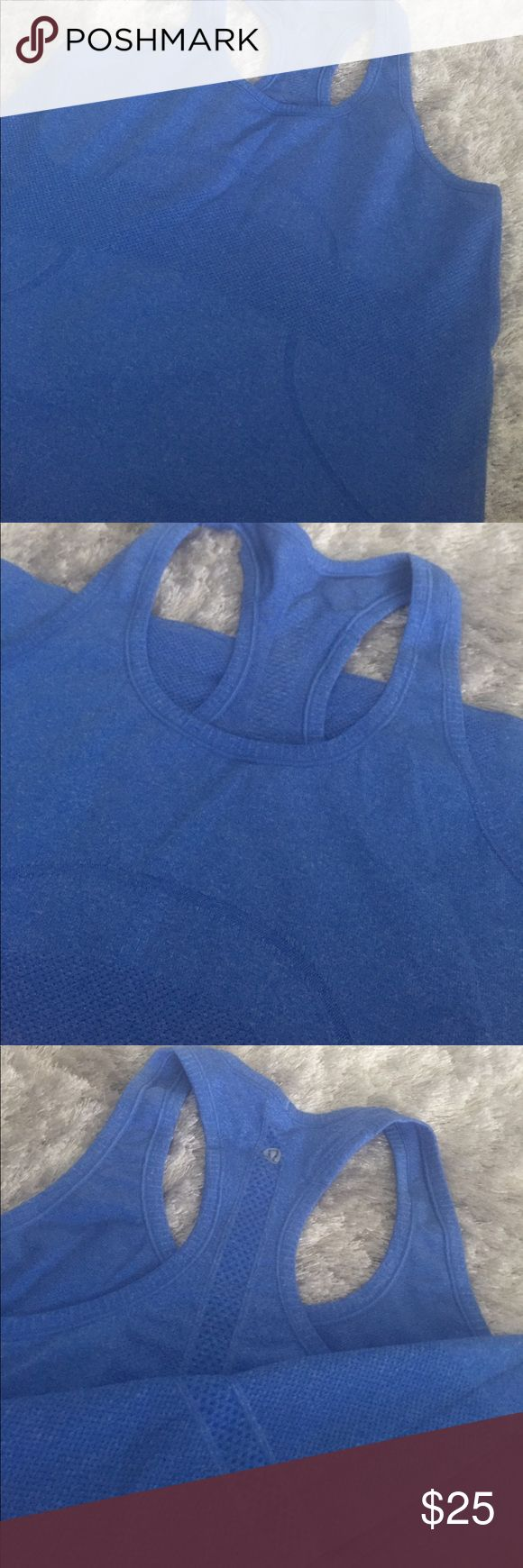 Lululemon sale 🌺🌺swiftly tech tank like new! Super soft blue Lululemon tank 🌺🌺🌺sale lululemon athletica Tops Tank Tops