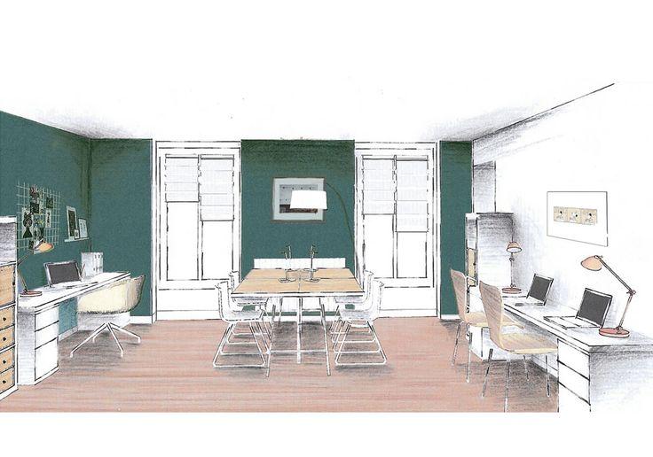 les 16 meilleures images du tableau cabinet m dical sur pinterest bureaux art abstrait et. Black Bedroom Furniture Sets. Home Design Ideas