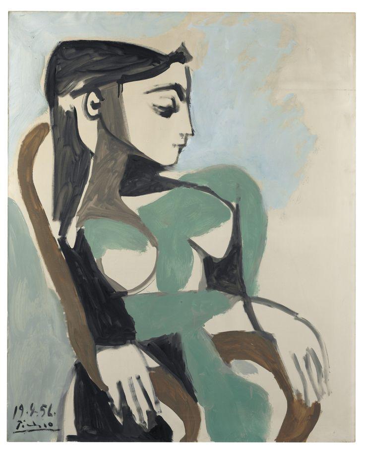 Pablo Picasso (1881-1973) Femme dans un fauteuil