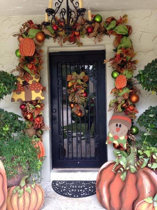 Top 10 best Fall Front Door Garland images on Pinterest | Fall  EZ19