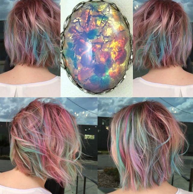 Tendência estilosa: Cabelo cor Opala pegou de vez no mundo inteiro