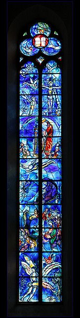 Chagall in Sankt Stephan church, Mainz, Germany