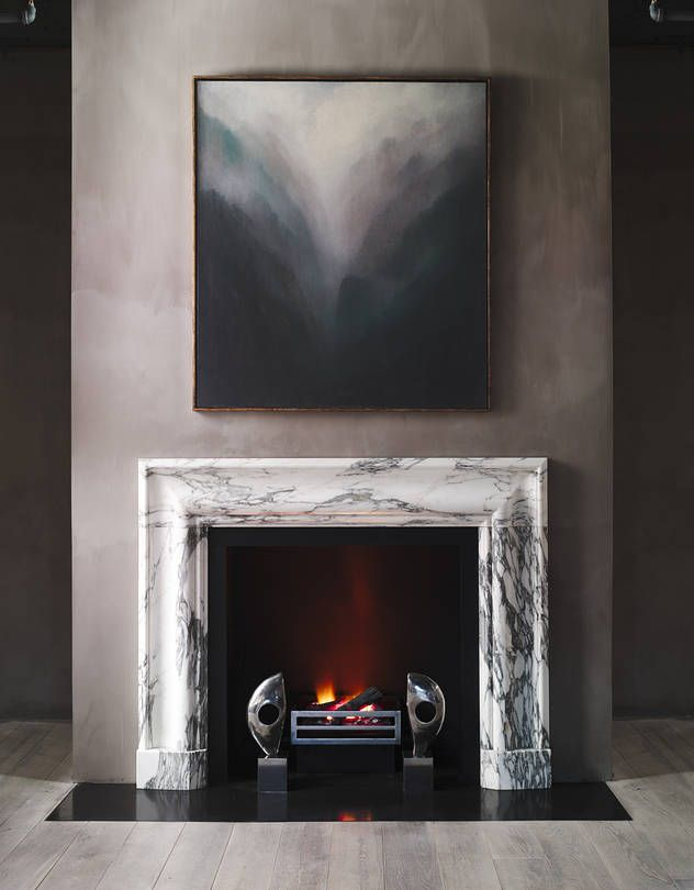 The Latest Trends In Fireplace Mantels Include Designs