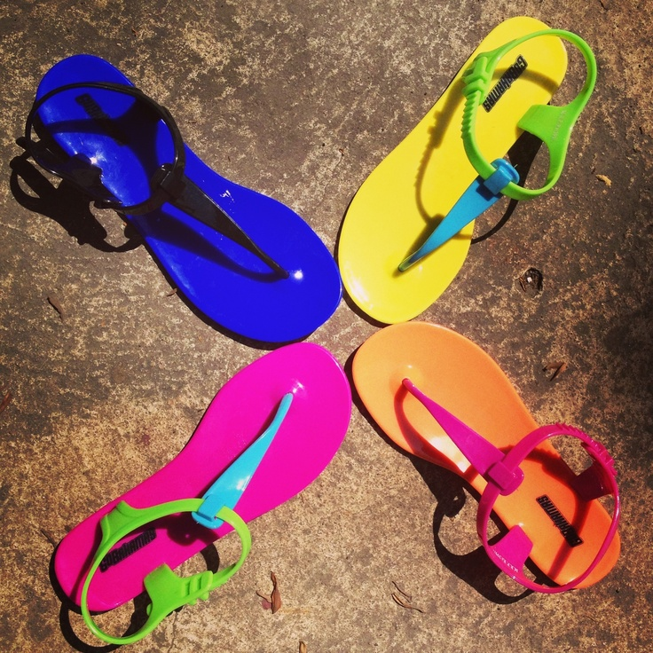 GoBahamas Jelly Sandals