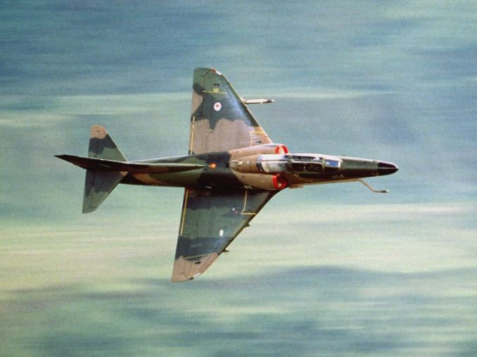 A New Zealand Air Force A-4 Skyhawk.