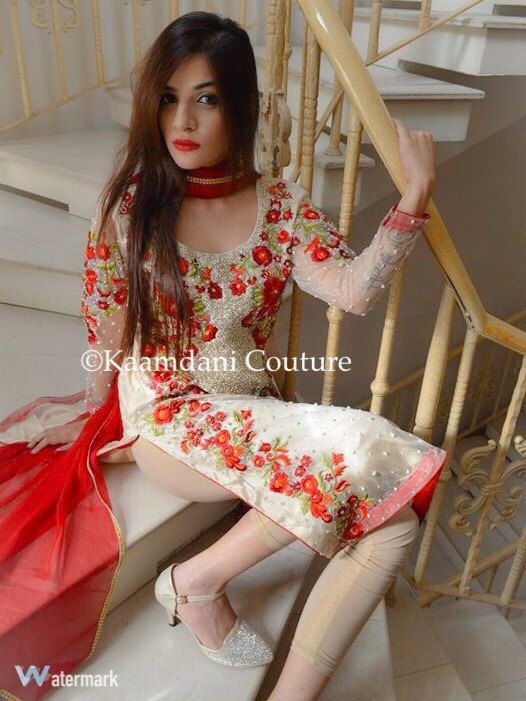 Made to Order Beautiful Sania Maskatiya Inspired Dress Hand Embrioded with stones and pearls Shirt Shirt/Cigarette Pants Indian/Pakistani by KaamdaniCouture on Etsy