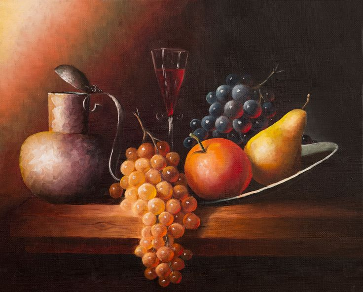 Very nice for your kitchen #Oilpainting #Kitchen #Stilllife