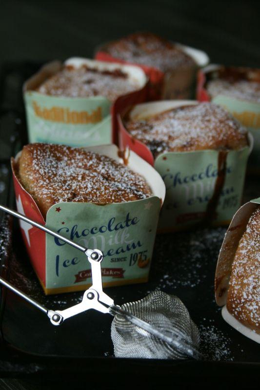 Petits cakes au Toblerone