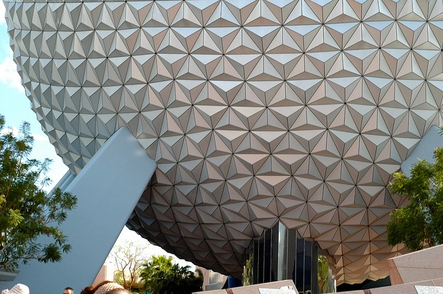 """Sun rising over Spaceship Earth, or """"A view I'm fiending for right now!"""" :)"""