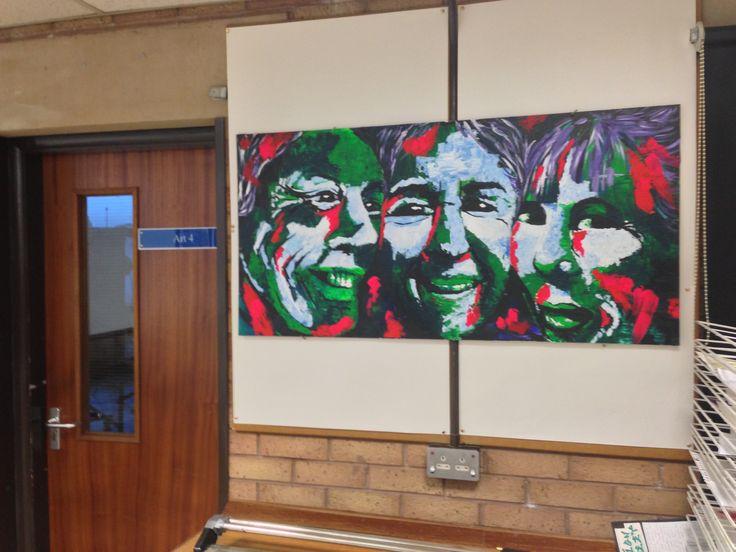 Y12 Portfolio Project 1 final piece, St Mary's Catholic High School