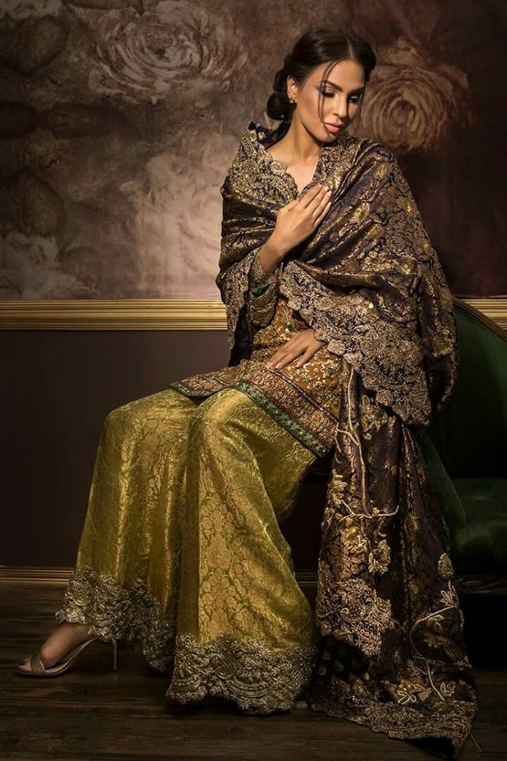 Sharara Fashion from Pakistan