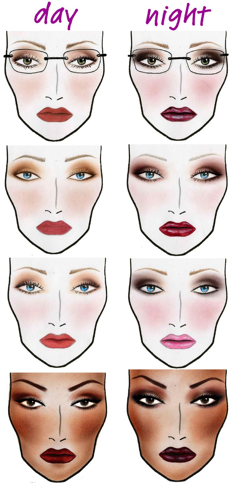 TIP #33: Your nighttime makeup should be applied more heavily than your daytime makeup. #DaytoNightChic