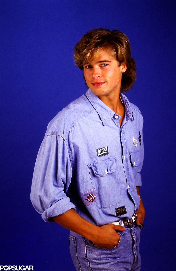 100 Gloriously Cheesy Brad Pitt Pictures From 1987
