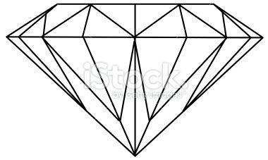 Diamond (Vector) Royalty Free Stock Vector Art Illustration: pinterest.com/pin/37225134393896907