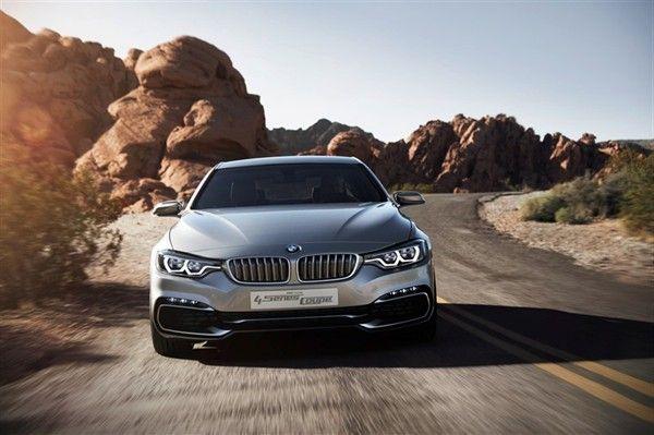 BMW Unveils 4-Series Coupé