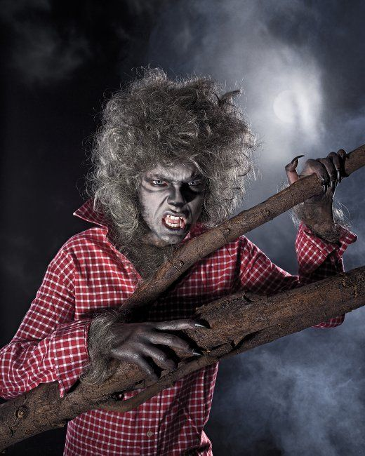 Halloween is for adults, too. Try this Teen Wolf costume on for size.