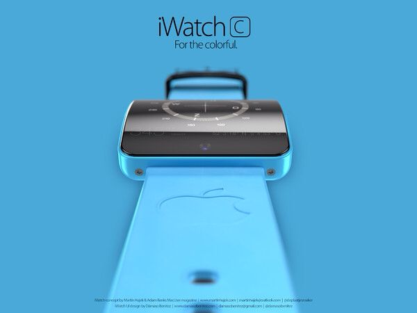 iWatch concepts by Martin Hajek