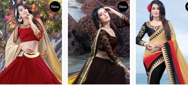 Sareebuzz: The best place where you can locate a wide collection of embroidered saree on the web. These embroideries works are made in various examples that are from the interwoven to smooth or substantial weaving. The patch works are by and large made on the printed and plain sarees. It incorporates a bit of fabric that is all around weaved and after that after connected as a patch in the saree. It gives a lively look through its right mix and gives a complete look.