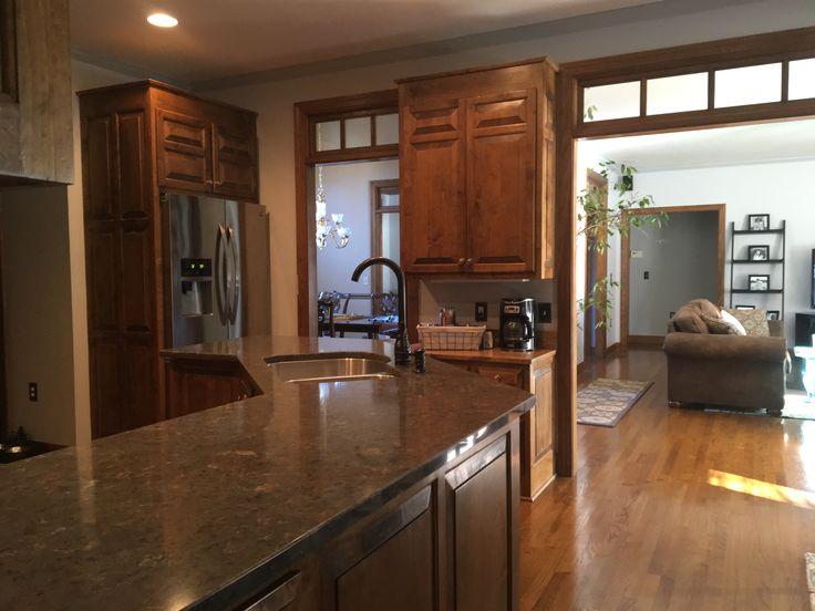 Silestone Quartz Copper Mist Countertops Kitchen Remodel