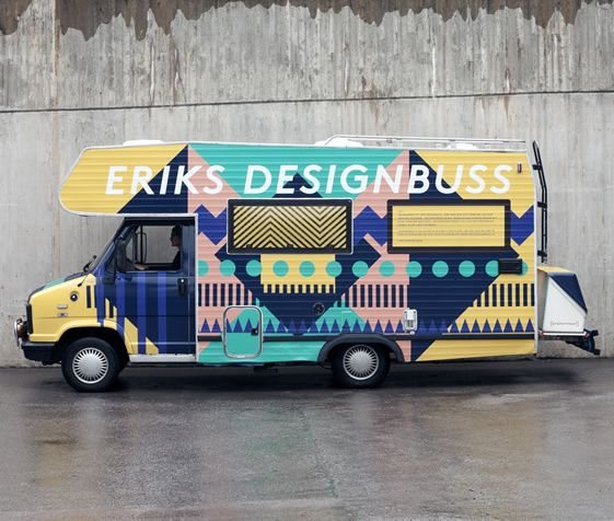 Erik's Designbuss   We Heart: Buses, Business Cards, Mobiles Design, Erik Designbuss, Graphics Design, Erik Olovsson, Design Studios, Design Bus, Design Offices