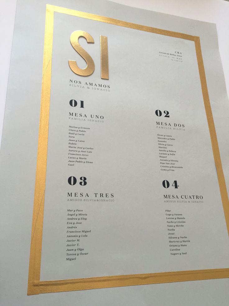 La tercera y minimalista colección de papelería de bodas de Loveratory. 'SÍ' contiene la esencia de la firma: amor por el papel, sencillez, poesía y diseño. #seatingplan #seating #papeleríadebodas #ideasparabodas #bodas2018 #weddingstationery #stationery2018