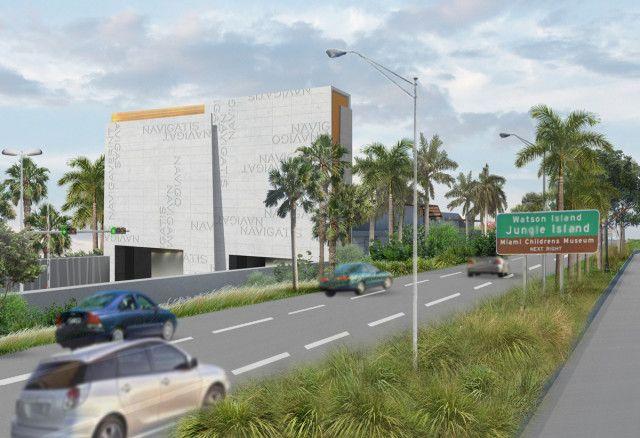 Entrada y salida al tùnel Puerto de Miami
