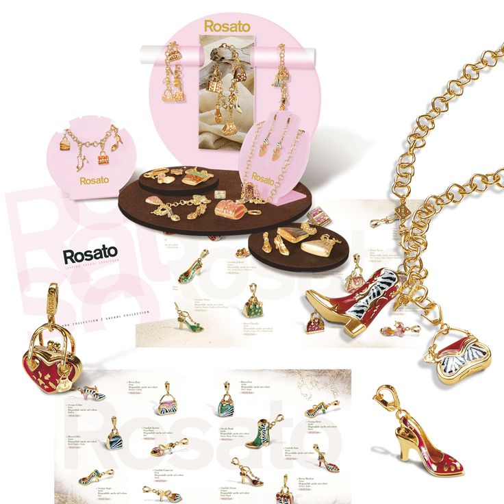 ROSATO Jewelry Trade Folder - Espositore Vetrina