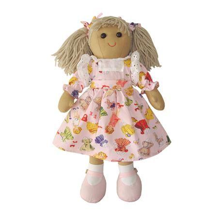 pink play dress #ragdoll