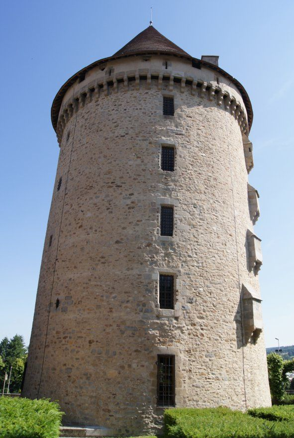 Zizim Tower, Bourganeuf, Creuse