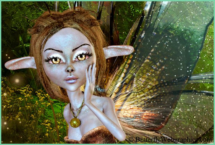 A Light Fairy from ButterflyWebGraphics.com.