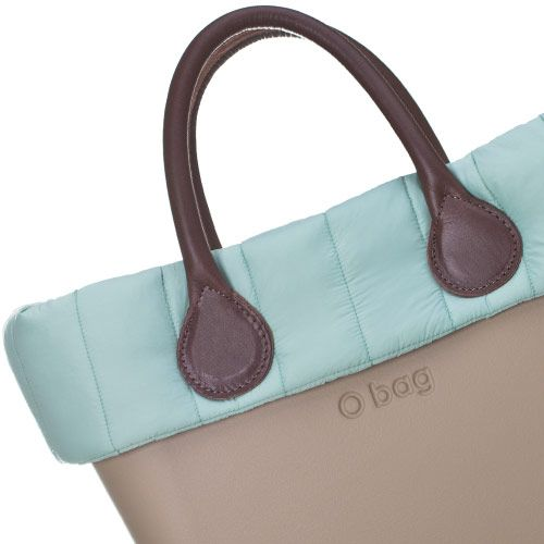 Quilted Trim - Turquoise - Mini O Bag Accessory