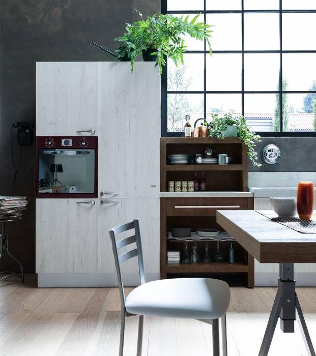 febal- ice industrial edition | idee cucina | pinterest | industrial - Cucina Febal Light La Qualita Accessibile