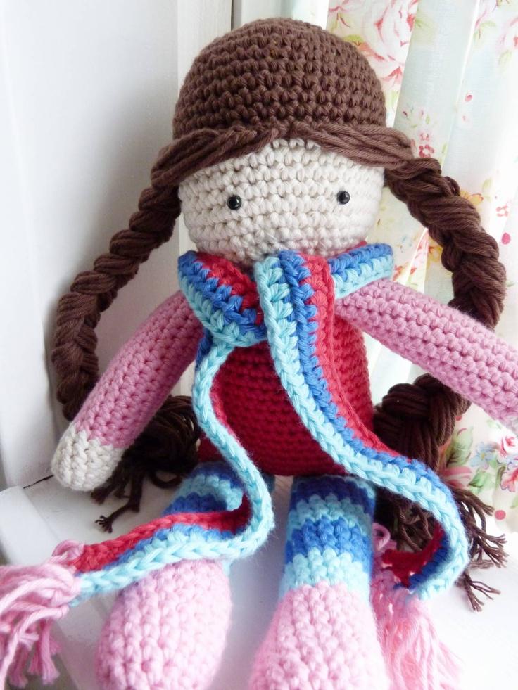 Amigurumi Hair Styles : 285 best Amigurumi Crochet Humans images on Pinterest