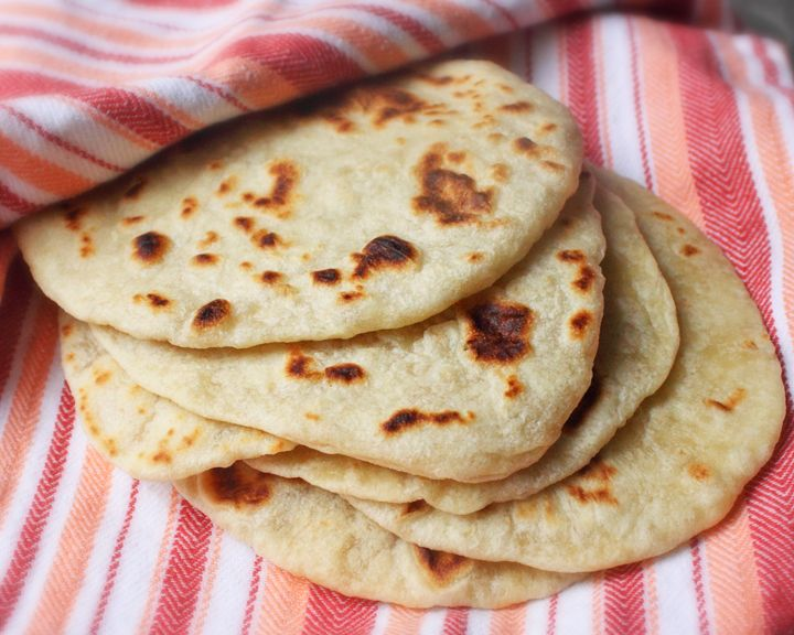 Fresh, Homemade Flour Tortillas in No Time FlatHomemade Tortillas, Homemade Flour Tortillas, Food, Videos, Breads, Cooking, Tortillas Recipe, No Time, Time Flats