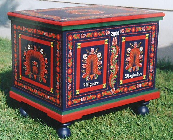 Hungarian National Furniture Painting