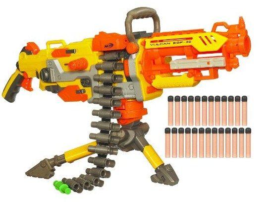 Pistola Nerf Volcan ametralladora